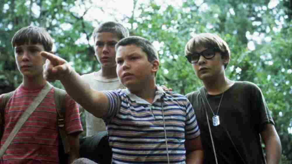 Wil Wheaton (left), River Phoenix, Jerry O'Connell and Corey Feldman search for the body of a local teenager in Stand by Me. The film, directed by Rob Reiner, celebrates its 25th anniversary this year.