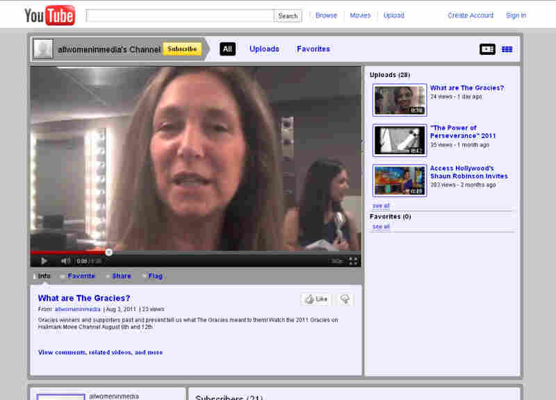 Julie McCarthy in Gracies promo clip.
