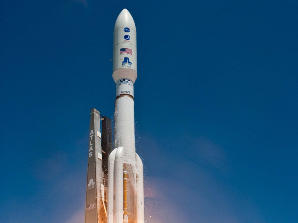 NASA launched the Juno spacecraft from Cape Canaveral, Fla. on Friday, aboard an Atlas V rocket.