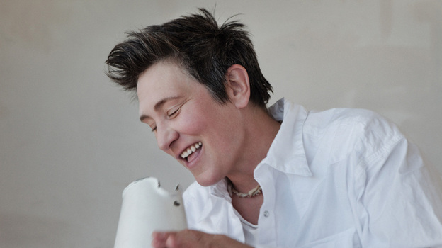 Hear an extensive interview and live cuts from k.d. lang on today's World Cafe. (Courtesy of the artist)