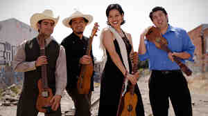 The Los Angeles band Cambalache specializes in son jarocho, a style from Mexico's Gulf Coast.
