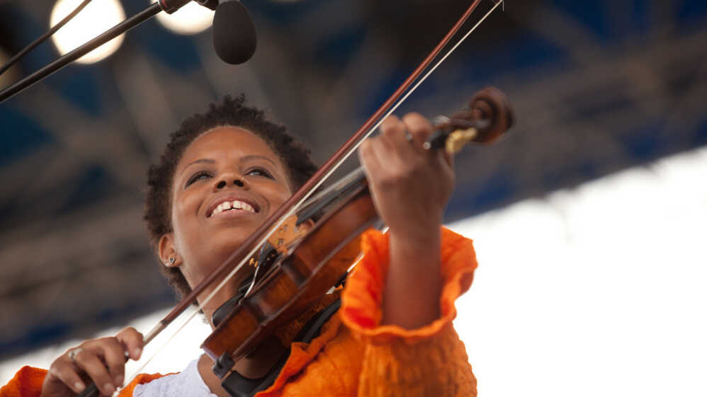 Regina Carter's Reverse Thread: Newport Jazz 2011