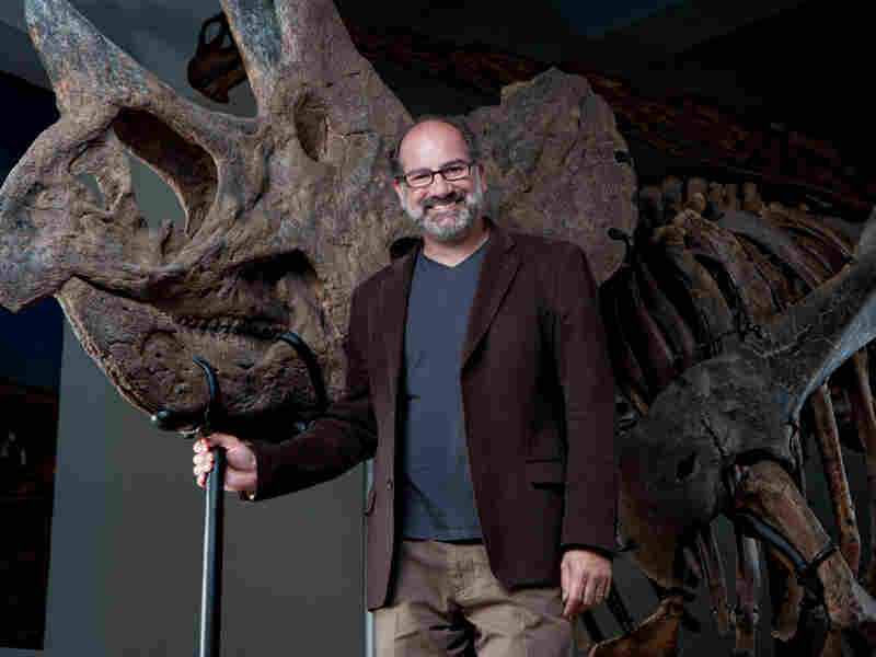 Curator Luis Chiappe hopes the Dinosaur Hall will inspire future generations of paleontologists.