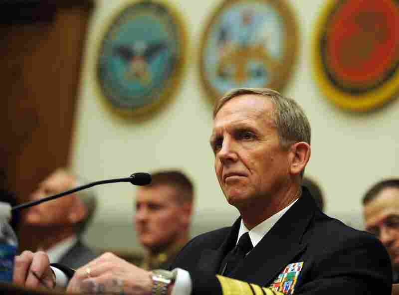 Adm. Eric Olson, former commander of the U.S. Special Operations Command, testifies before the House Armed Services Committee in 2009.