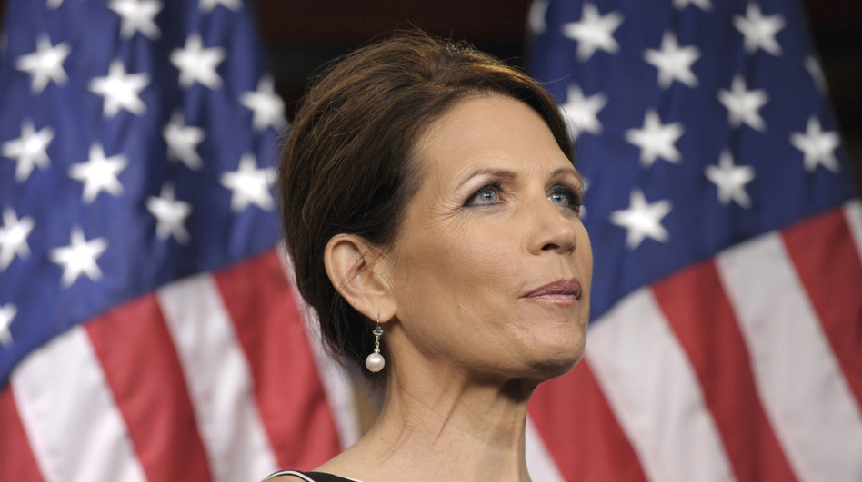 Rep. Michele Bachmann (R-MN) has been holding multiple campaign events each day, in preparation for next week's Iowa straw poll. (AP)