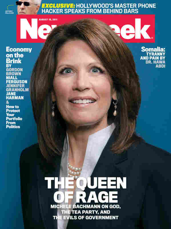 Newsweek's Michele Bachmann cover is certainly eye-catching.