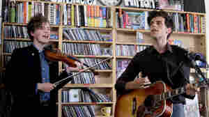 Noah and the Whale performs a Tiny Desk Concert at the NPR Music offices.