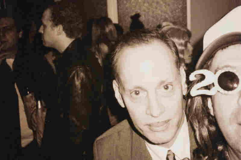 John Waters at a party, 2000