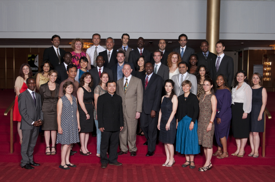 The 2010 class of Kennedy Center fellows included arts managers from the Philippines, Russia and Zimbabwe.