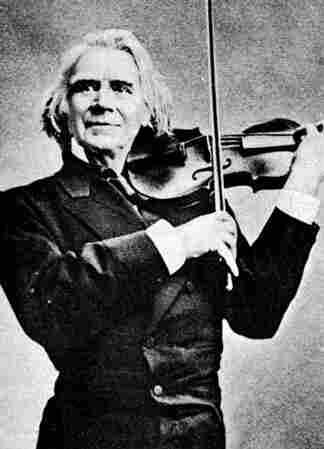 Norwegian composer and violin virtuoso Ole Bull.