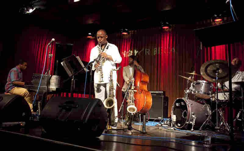 The Marcus Strickland quartet.