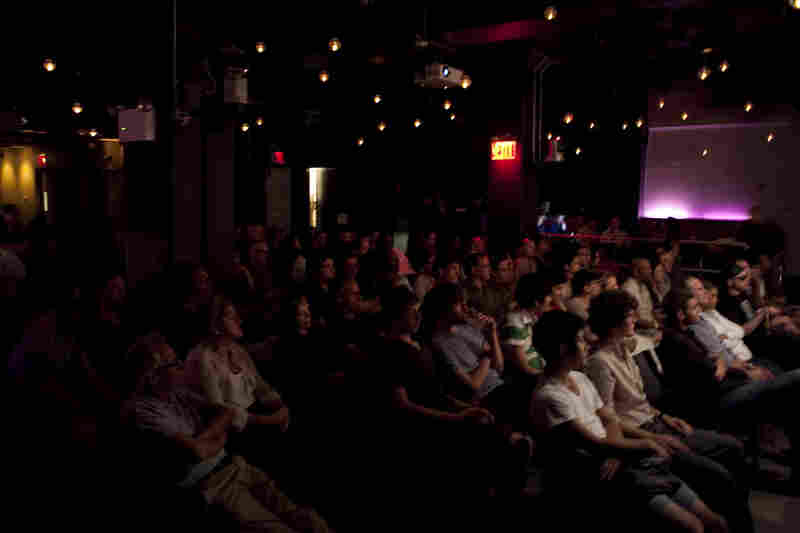 The crowd at 92Y Tribeca.