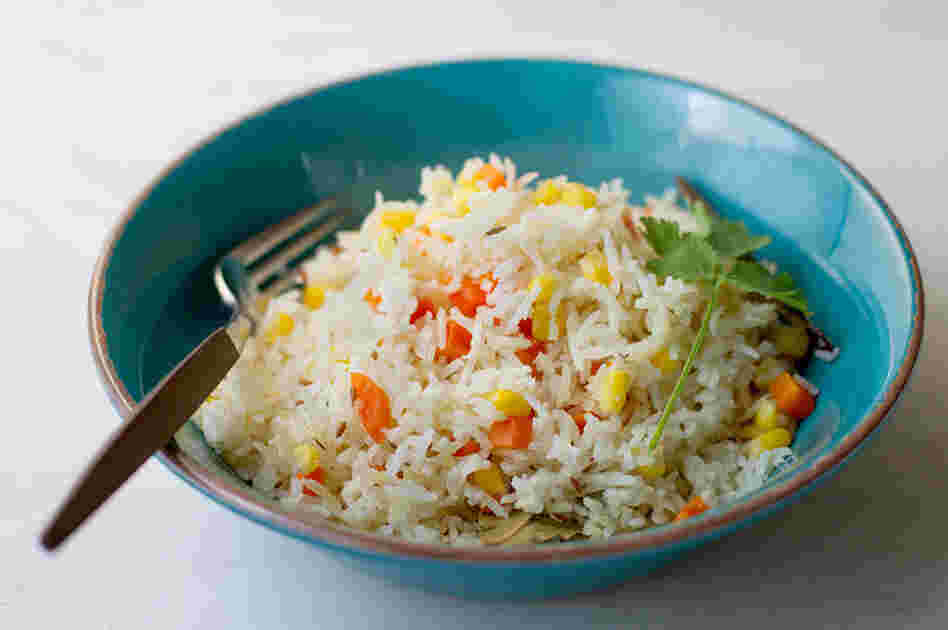 Rice With Corn