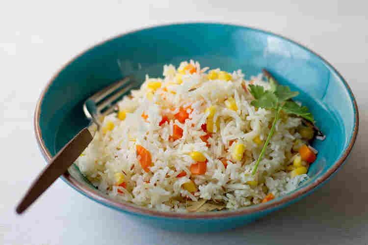 Rice With Corn