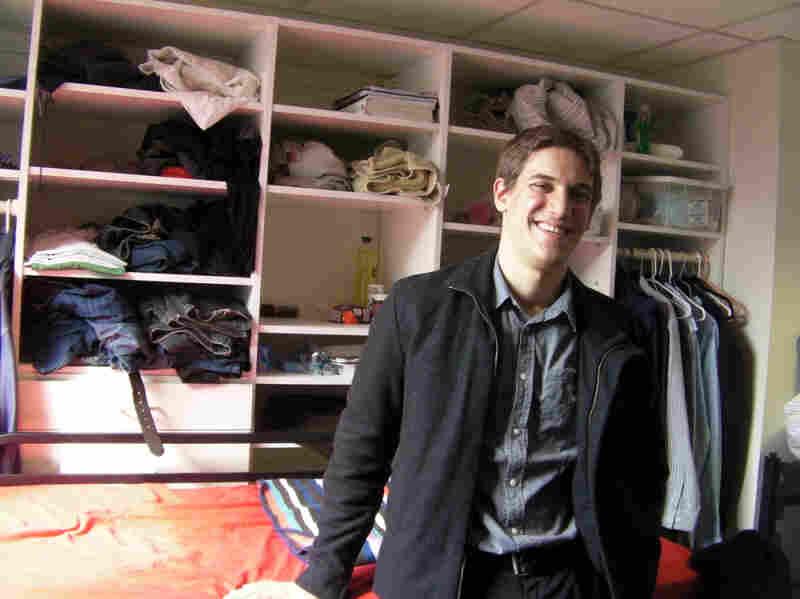 Samuel Katz left the ultra-Orthodox community of Williamsburg, Brooklyn, where he grew up. He's now a student at Stony Brook University on Long Island.