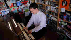Organist Paul Jacobs performs at NPR headquarters in Washington, DC for a Tiny Desk Concert on Friday, June 3, 2011.