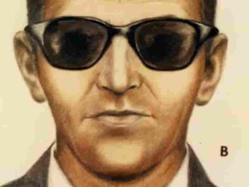 An undated FBI sketch of D.B. Cooper.