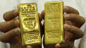 As Markets Roil, A Rush To Gold: A Reported Poem