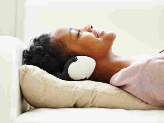 A study suggests that listening to music is a simple way for cancer patients and their families to help manage stress.