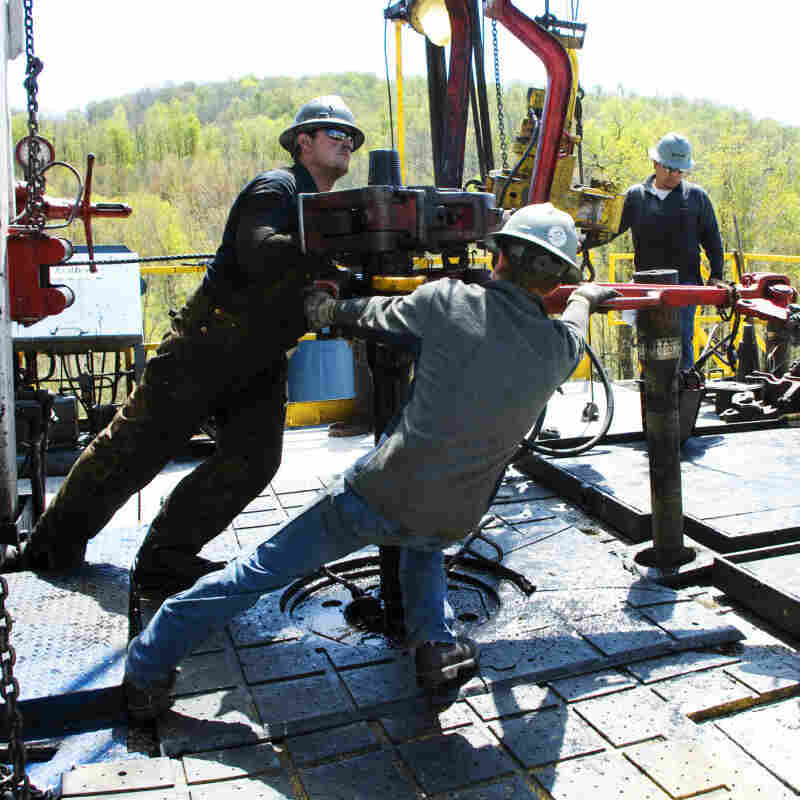 "A controversial drilling process called hydraulic fracturing or ""fracking"" frees natural gas underground by using millions of gallons of water brewed with toxic chemicals. A Department of Energy panel concludes the public needs more information  about the practice to restore faith in it."