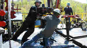 """A controversial drilling process called hydraulic fracturing or """"fracking"""" frees natural gas underground by using millions of gallons of water brewed with toxic chemicals. A Department of Energy panel concludes the public needs more information  about the practice to restore faith in it."""