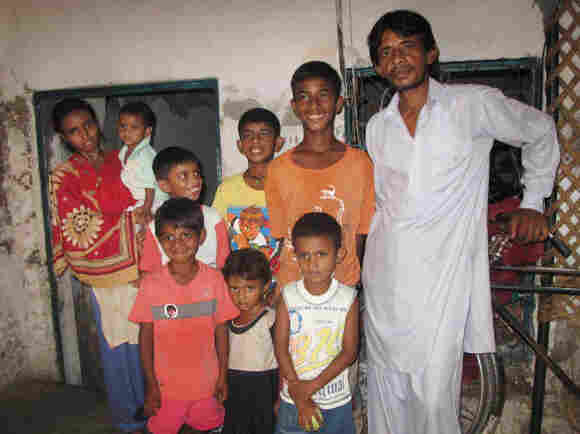Tariq Ahmed, a jobless father of six sons and one daughter, insisted on having another child.  His wife, Rani Tariq, said she was already ill and overburdened with seven children. But she's pregnant again.