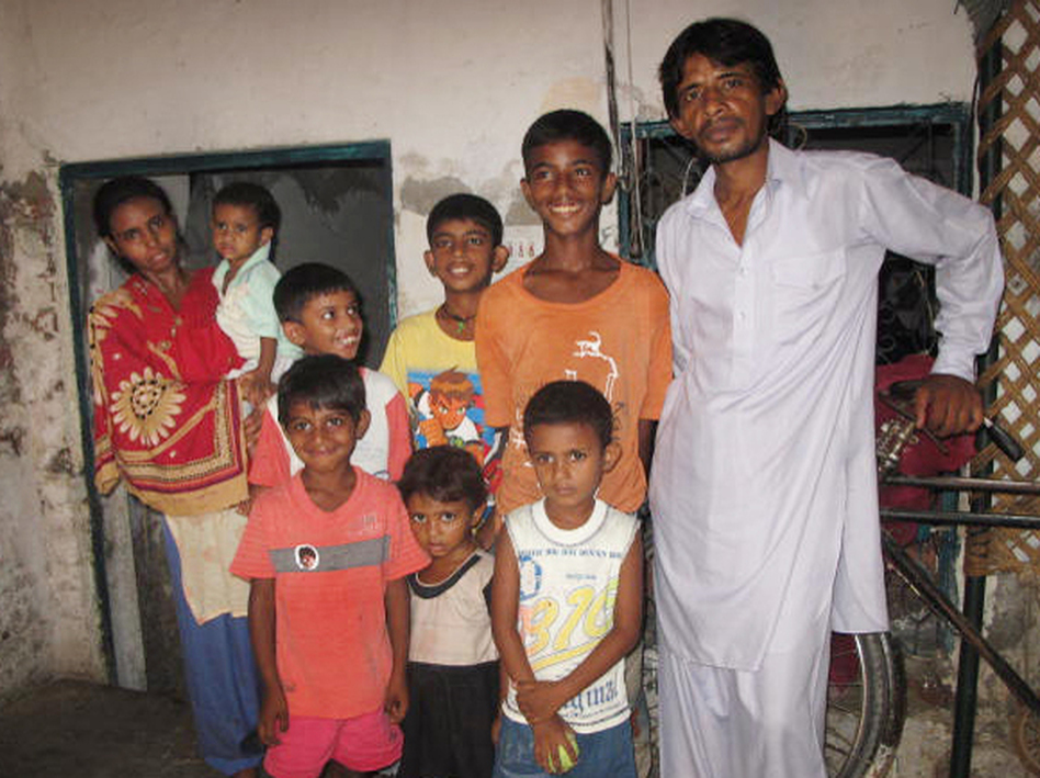 Tariq Ahmed, a jobless father of six sons and one daughter, insisted on having another child.  His wife, Rani Tariq, said she was already ill and overburdened with seven children. But she's pregnant again. (NPR)