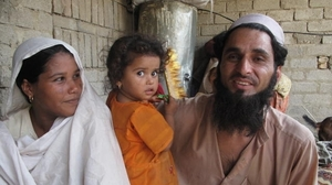 "Khasrat and Qadar Gul struggle to reconcile their  cleric's teachings against contraception with husband Qadar's desire not to  father more children. ""We are poor and cannot afford a bigger family,"" Qadar  Gul says."