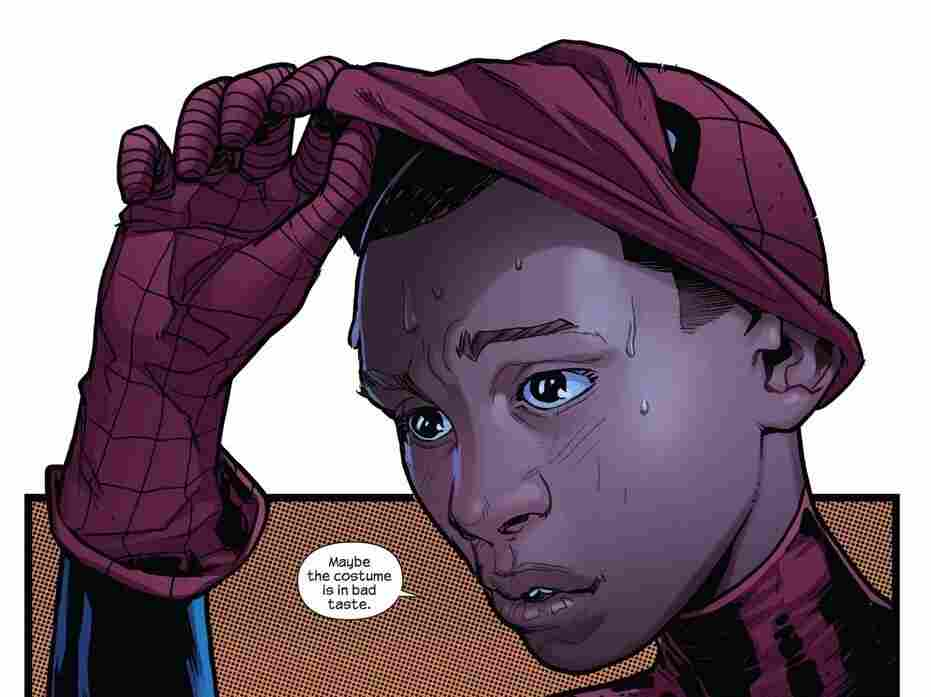 """Miles Morales, half Latino and half African-American, is the new face of Spider-Man in the """"Ultimate"""" line of Marvel Comics."""