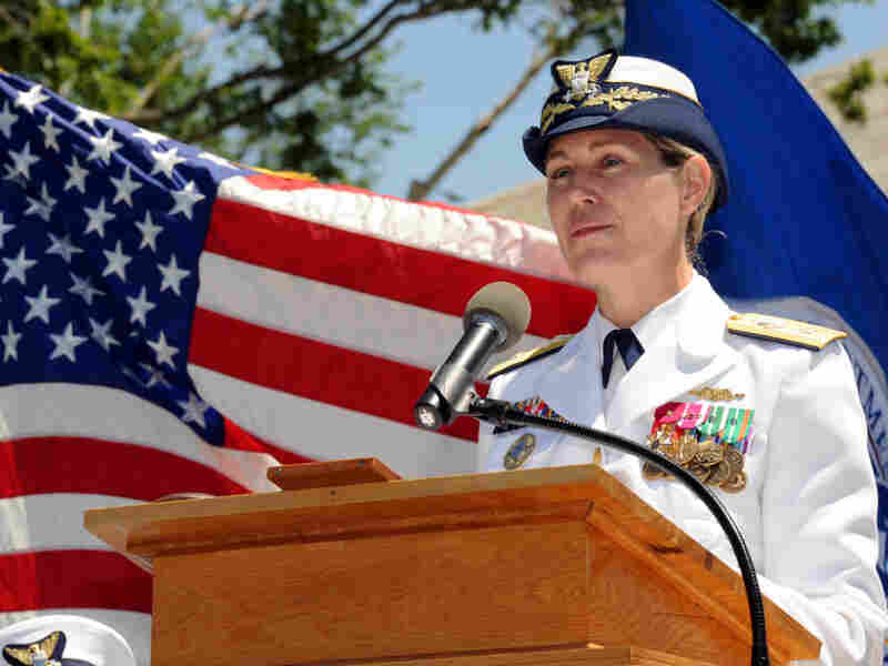"""I just wanted to be another sailor,"" Superintendent Sandy Stosz says. ""I just wanted to be known for my competency and what I could bring to the Coast Guard — not for my gender."""