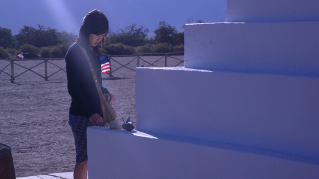 Lost In Translation: Atsuko Sakamoto (Atsuko Okatsuka), who speaks no English, stays behind in Littlerock without a translator when her brother leaves for San Francisco. But the insights she gains into wayward American youth during her stay transcend language boundaries.