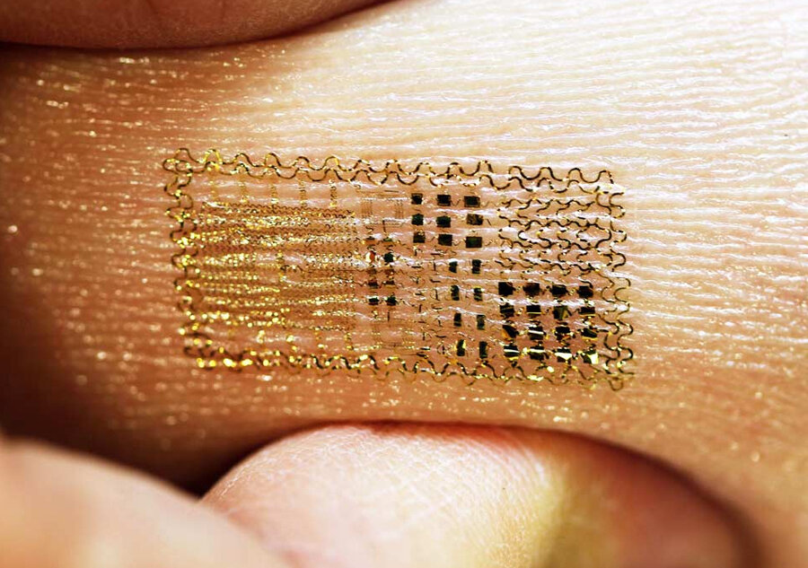 New Sensors Stick To Skin As Temporary Tattoos : The Two-Way : NPR