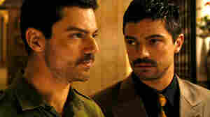 In The Devil's Double, Dominic Cooper  plays two characters: Saddam Hussein's oldest son, Uday, and Iraqi  military man Latif Yahia, who was made to undergo plastic surgery so he could  become Uday's body double.