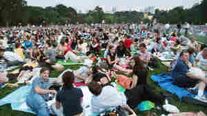 Patrons at a 2007 New York Philharmonic concert in Central Park. The Philharmonic abruptly cancelled its annual summer concert series this year for the first time since 1965.