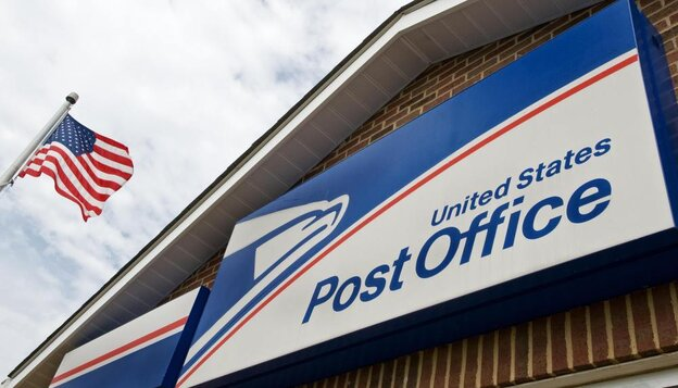 A U.S. Post Office  in Bristow, Virginia.