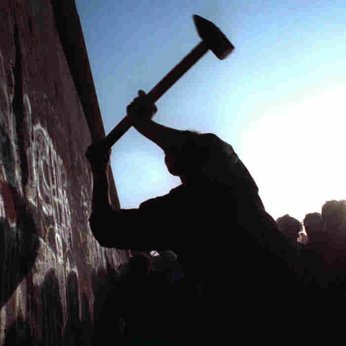 The wall between East and West Germany was torn down after 28 years on Nov. 12, 1989