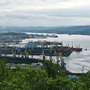 Murmansk, Russia, is the largest city above the Arctic Circle. If Russia follows through with plans to explore for oil and natural gas offshore in the Arctic Ocean, the city and its port could see significant economic benefits.