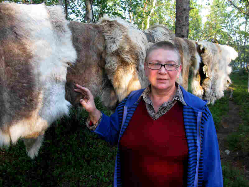 Nadezhda Lyashenko is a spiritual leader in the Saami tribe, indigenous people who live in Russia's northwest Arctic region. As Russia and other world powers search for oil in the Arctic Ocean, she worries about the environmental consequences.