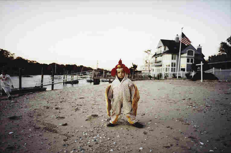 """This photo was added to our Flickr group by Anna Moller.  It was shot on Halloween in Rowayton, Connecticut. """"Just one of the  kids in the neighborhood,"""" Anna said. She titled it """"Reed the Rooster."""""""