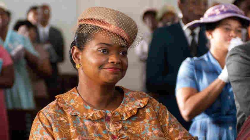 "If the audience is uncomfortable watching The Help, that's appropriate, says actress Octavia Spencer: ""People lived this discomfort."" Spencer plays Minny Jackson — an African-American maid in 1960s Mississippi — in the film adaptation of Kathryn Stockett's controversial novel."