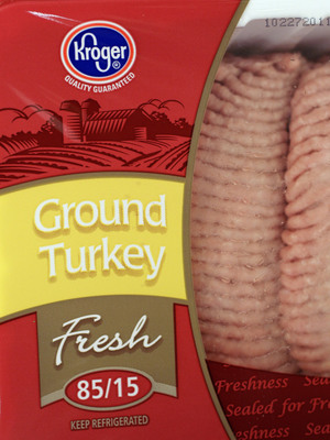 Ground turkey packages like this one are part of a nationwide recall and are blamed for sickening 107 people so far.