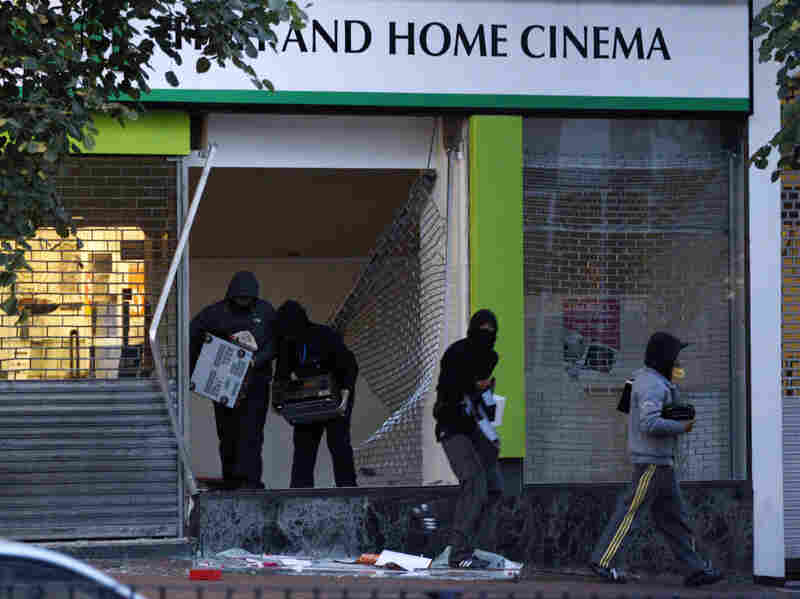Cultural critic Diran Adebayo says the riots in the UK are rooted in materialism and believes people need to be reminded they're valued for more than the things they possess.