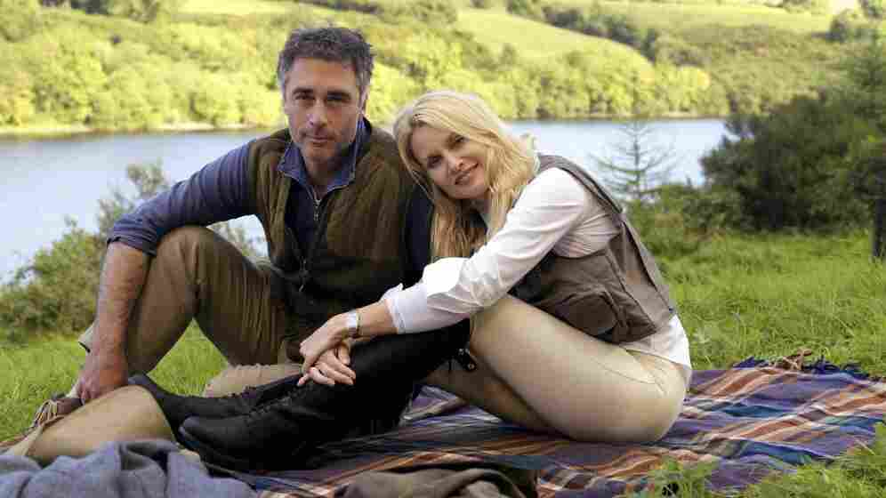 Greg Wise and Nicollette Sheridan star in Hallmark's Honeymoon For One.