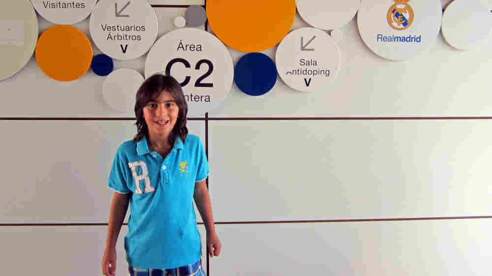 Real Madrid has signed  7-year-old soccer prodigy Leonel Angel Coira from Argentina.