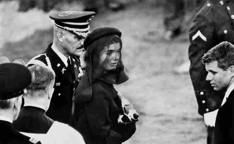 Jacqueline Kennedy at John F. Kennedy's Funeral, Arlington, Va., Nov. 25, 1963