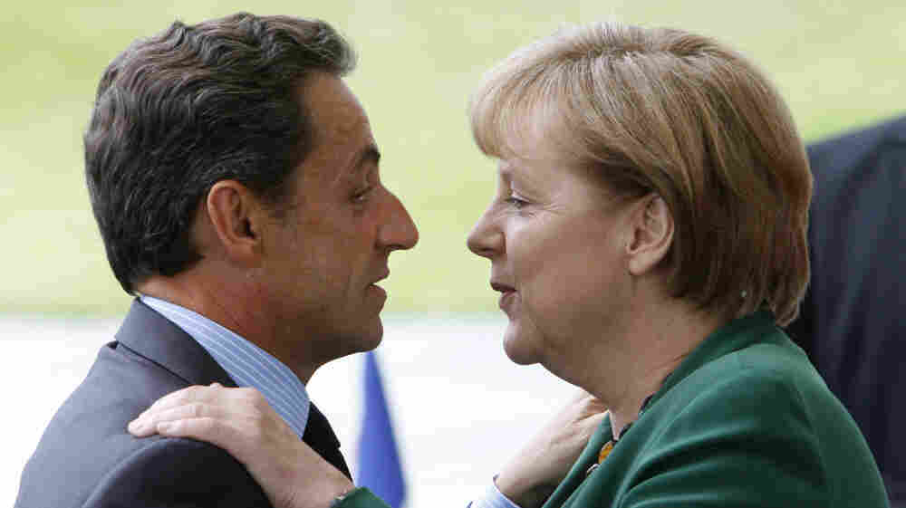 German Chancellor Angela Merkel and French President Nicolas Sarkozy met in Berlin last month for negotiations on the European debt crisis. They meet again on Tuesday in Paris in another attempt to stabilize the faltering economies in the eurozone.
