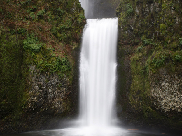 """Co-mingling treated, cleaned wastewater with a natural water supply is one way to remove the psychological contagion from sewage water. """"It's an identity issue, not a contents issue,"""" says psychologist Carol Nemeroff. Above, Multnomah Falls in Oregon. (AP)"""
