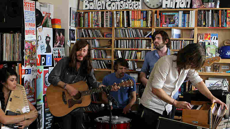 Other Lives perform a Tiny Desk Concert at the NPR Music offices.