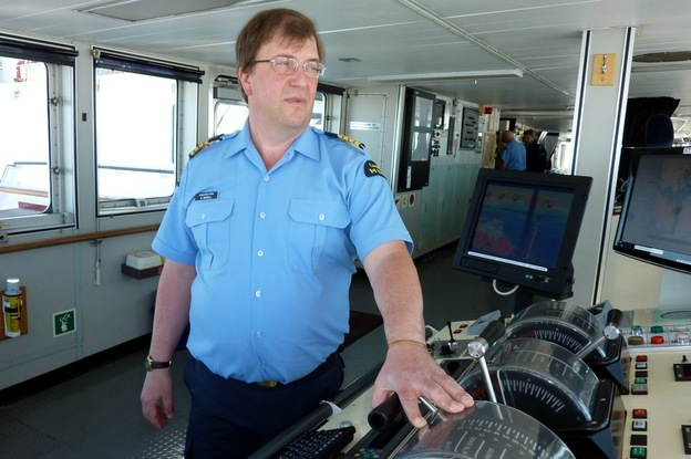 Andrew McNeill, a captain in the Canadian coast guard, has been traveling to the Arctic since the late 1970s and been commander of the Louis icebreaker for the past seven years.