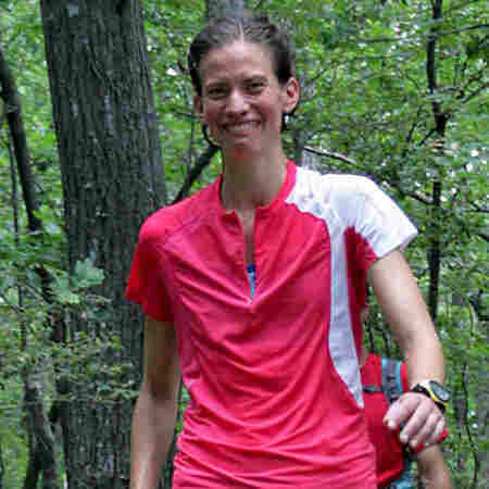 Jennifer Pharr Davis has set the unofficial speed record for hiking the entire Appalachian Trail.